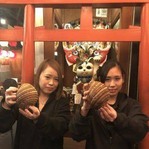 ヒノマル食堂有楽町店 熊本の縁起物「八代貝」